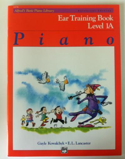 Ear Training Book Level 1A